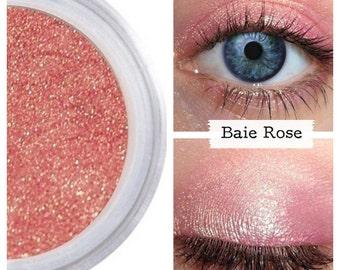 Rose Gold Eyeshadow, BAIE ROSE, Mineral Eye Color Eyeshadow, Pink Gold Eye, Rose Gold Eye, Vegan Rose Gold Eye, Eye Make Up, Rose Gold Eye
