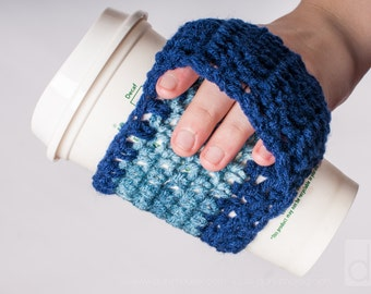Coffee Cozy, Handle, Warmer, Ready to Ship, US Shipping Included