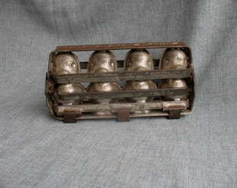 Vintage Chocolate Mold 4 Ducks in A Row Candy Mold Food Mold Soap Mold