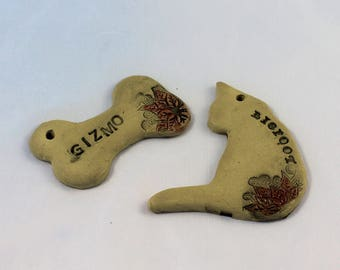 Personalized Pet Ornament - made to order