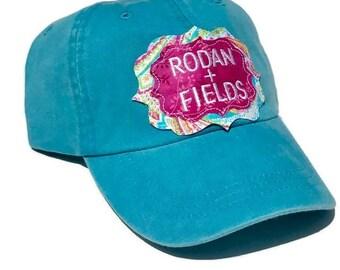 Rodan + Fields, Rodan and Fields hat, Baseball cap,  Rodan and Fields, R+F,  Trucker hat, Raggy patch cap