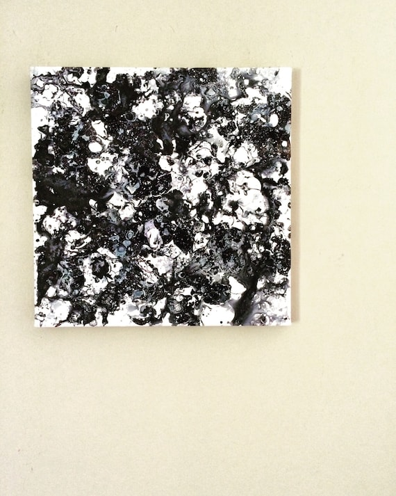 Black white painting monochrome art black white artwork
