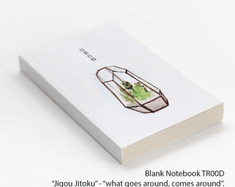 Blank Notebook TR00D