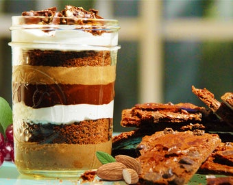 Chocolate Seduction 7 Layer S'mores™ - Handcrafted & Ready to Enjoy