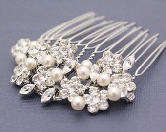 Small bridal hair comb wedding hair accessories bridal hair jewelry wedding headpiece bridal jewelry wedding accessories bridal comb