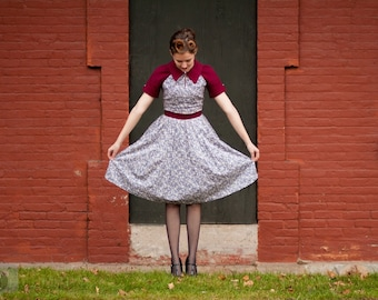 Retro School Girl Dress