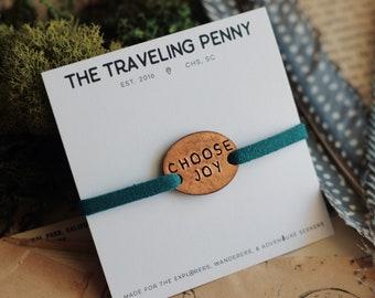Choose Joy Stacking Bracelet, Yoga Jewelry, Inspirational Bracelet, Mantra Jewelry, Mantra Bracelet, Yoga Bracelet, Yogi Gift, Motivational
