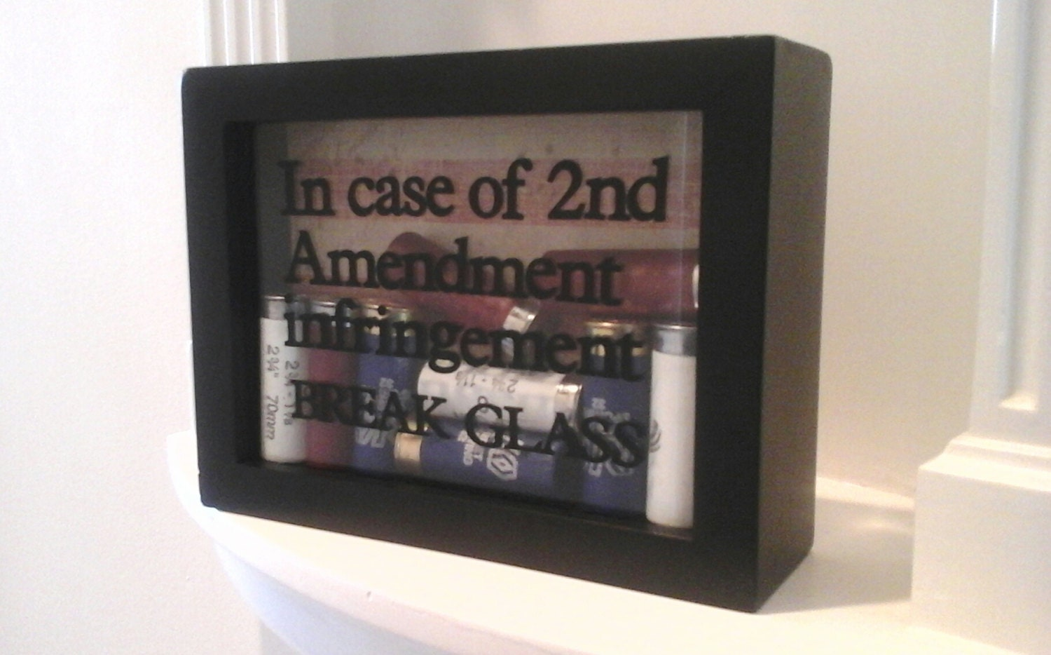 Bullet frame shadow box free shipping 2nd amendment gun zoom jeuxipadfo Image collections
