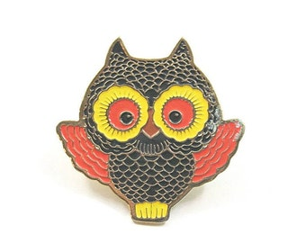 Adorable Owl Pin