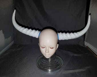 Doll sized Springbok horns (BJD Horns)