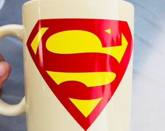 Superman Coffee Cup