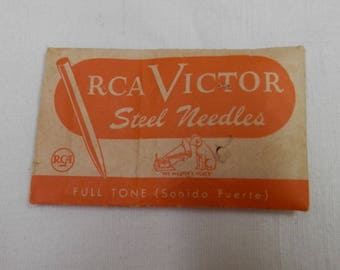 Vintage RCA Victor Steel Needles set of 94