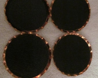Coppercraft Guild  Coasters set of 4 new