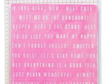 Amy Tangerine Rise and Shine - Remarks Phrase Stickers -- MSRP 3.00