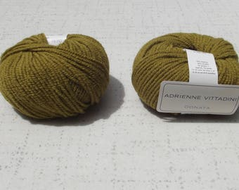 Adrienne Vittadini Donata Yarn, Olive yarn, Destash yarn