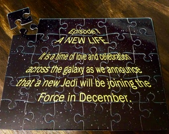Star Wars Pregnancy Announcement