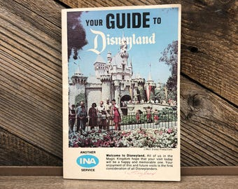 1967 Guide To Disneyland Booklet