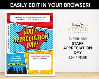 employee appreciation flyers