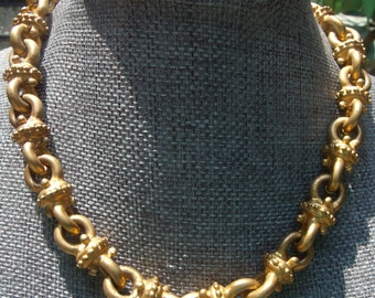 Chunky Gold Toned Necklace