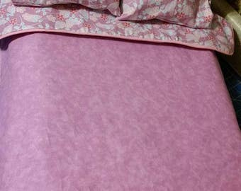 Bed linens for full sized bed for 18 inch dolls
