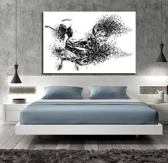 Superb CANVAS ART Sensual Bedroom Wall Decor Minimalist Bedroom