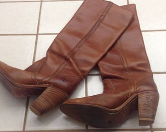 FREE SHIPPING Vintage FRYE Campus Boots