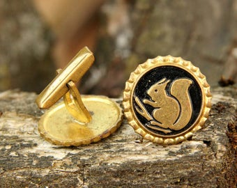 Father's Day GIFT brother gift of brother Jewelry|For|mens cufflinks Vintage Cuff Links bronze Jewelry |for|Him cufflinks  bronze  cufflinks