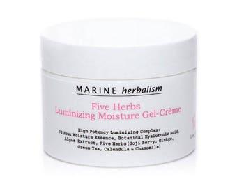 Five Herbs Luminizing Moisture Gel-Crème (Hydration Booster) - Sea Kelp Bioferment