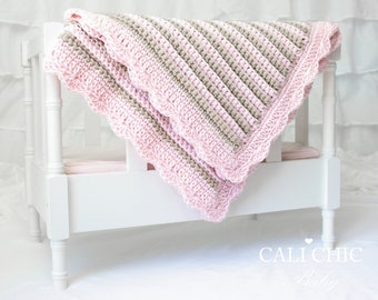 Crochet Baby Blanket PATTERN 24 - Sweet Dreams - Baby Blanket PATTERN 24 - Instant Download
