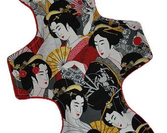 Moderate Core- Geisha Reusable Cloth Goddess L Pad- WindPro Fleece- 14.5 Inches