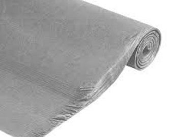 set of 10 sheets of silk tissue paper 50 x 75 gray mouse new