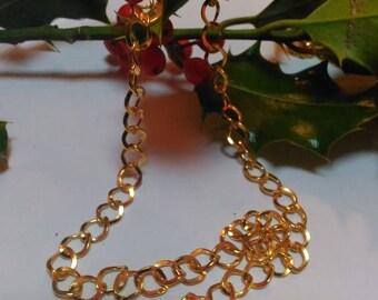50 cm chain Golden Link 3.7 x 3 mm metal