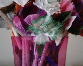 Flower ink pens