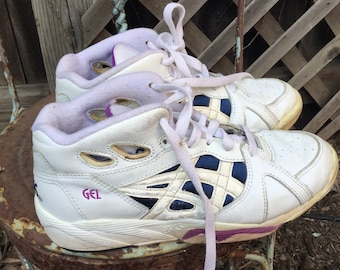 Super retro 1980s Asics tennis shoes women's 7.5