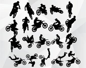 Dirt Bike svg,png,jpg/Dirt Bike clipart for Print,Design,Silhouette,Cricut and any more