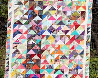 Caravan of Geese Quilt Pattern, pdf