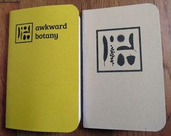 Awkward Botany Pocket Notebooks, Collection 2