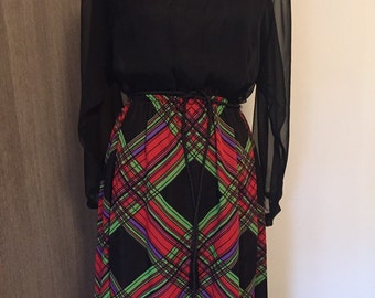 Psychedelic dress late 60's, 70's