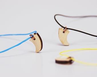 Wooden Board Fin Bracelet