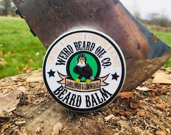 60ml Weird Beard Oil Co Sandalwood and Lemongrass Beard Balm
