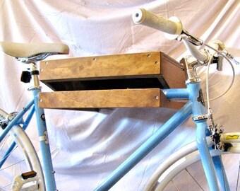 Rustic Bike Shelf