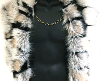 Faux Fur Cape by Luv Warrior