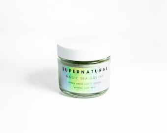 Magic Sea Greens Natural Clay Mask • w/ French Green Clay and Organic Seaweed
