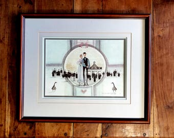 P Buckley Moss Signed Print, P Buckley Moss, Modern Art, Original Art
