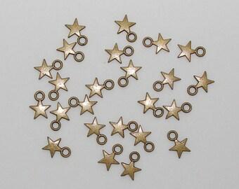 10 stars bronze antique - Ref: BB 234