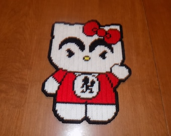 Juggalette Hello kitty wall hanging