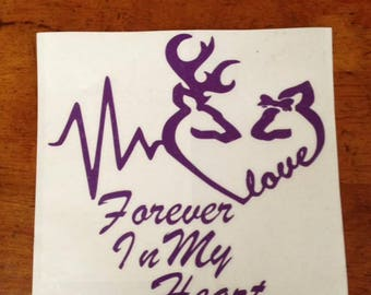Forever in my Heart Vinyl Decal