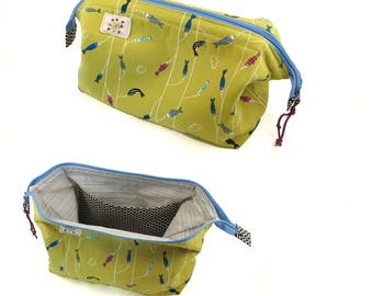 Stand-Open Cosmetic Bag - Medium