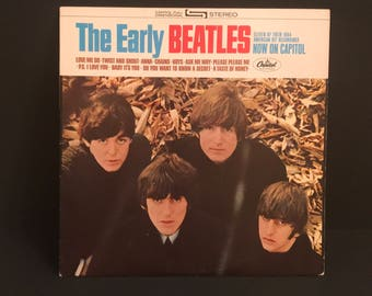 "The Beatles ""The Early Beatles"" Original Record Vinyl LP"
