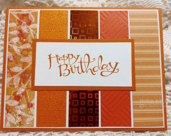Birthday Cards Sister Card Friend Birthday Present Card For Him Happy Birthday Card Coworker Birthday Gift Handmade Card Mom Card Dad Card